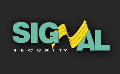 Security systems company logo